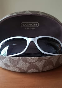 Coach Lexi white sunglasses Burlington