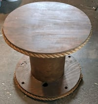Wooden Spool Coffee Table Calgary, T3H 1G3