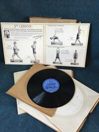 """Wallace Reduce Vintage 1922 Records, """"Get Thin to Music  (6) Record Washington, 20011"""