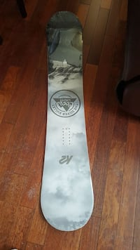 white and gray Coors light snowboard Calgary, T2Z 3V8