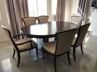 Colonial style Extendable Dining Set (table and 6 chairs) Newmarket