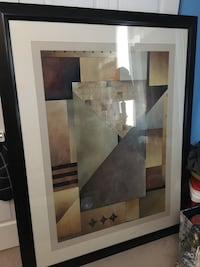 Large Abstract framed art Mechanicsville, 23111