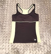 Women's RBX tank paid $28 size Large like new with built-in bra