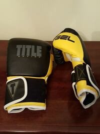 Black and yellow gel heavy bag gloves Knoxville, 37919