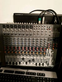 black and gray audio mixer London