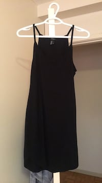 Black cotton dress  Vancouver, V6G 1C8