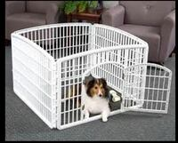 New, unused.. IRIS 24'' 4-Panel Pet Playpen with Door St Thomas, N5R 6M6