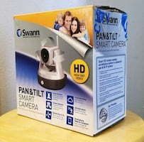 SMART CAMERA, watch your home with your phone, PAN AND TILT!!!!