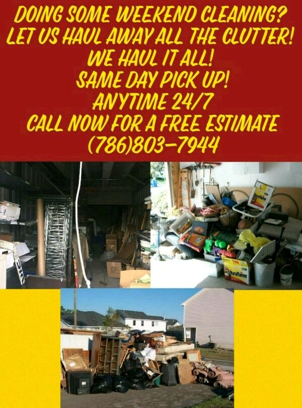 Junk removal in Hollywood - letgo