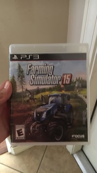 Sony PS3 Farming Simulaor 15 case