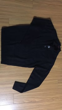 Men's Lg New Black Knit Sweater  Amherstburg, N9V 3S4