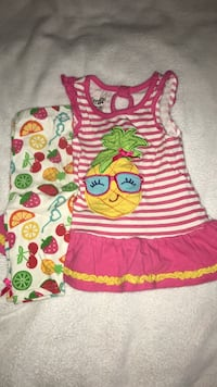 Two piece set pineapple summer outfit Townsend, 19734