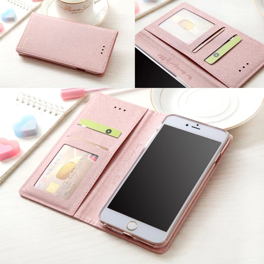 iPhone X Max Wallet Phone Case