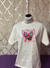 white crew-neck shirt Gastonia, 28056