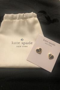 Kate Spade Heritage Heart Earrings - Final Clearance  Mississauga, L4Z 1H7