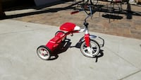 red and white Radio Flyer trike Vacaville, 95688