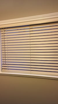 """Beige color aluminum 2 """" blinds used condition 3 sizes available"""