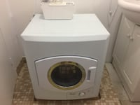 white front-load clothes washer Toronto