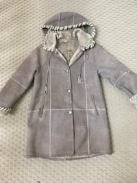 gray button-up parka coat Potomac, 20854