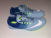 Nike Zoom Rival S 8 Track Shoes Women's Size 8 Running Blue Miami, 33143