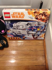 Star Wars lego play set AT hauler 75219 set number new in sealed box from solo movie brand new awesome lego set Medford, 02155