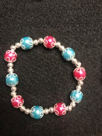 Elegant pink and blue bracelet Greer, 29651