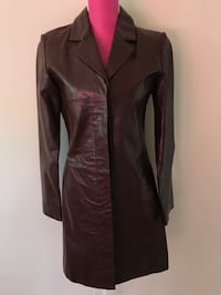 Woman Wilson's Leather Maxima Coat Jacket Size S Alexandria, 22304