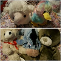 "(5)10"" STUFFED ANIMALS  Pensacola, 32504"