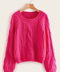 Bright Pink Sweater