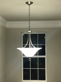 PRICE DROP!! Like New Beautiful Ceiling Light with 3  A19 LED Bulbs Jessup, 20794