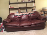 Leather couch, love seat & chair (must go!)