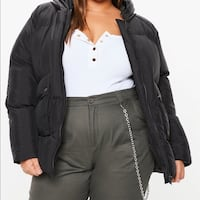 MISSGUIDED UK PLUS SIZE 12/14 PUFFER WINTER JACKET NEW WORN ONCE  Laval, H7T 1V1