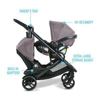 Baby's black and gray stroller Springfield, 22150