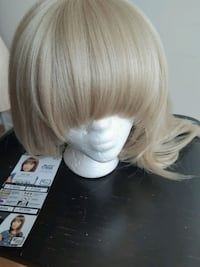 Platinum Blonde Synthetic Wig