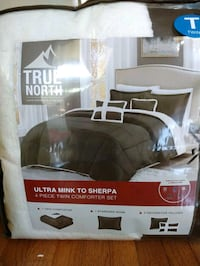 True north 4piece comforter set. New Twin Fairfax