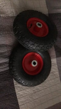 Two Medium size wheels Hamilton, L8B 2Z7