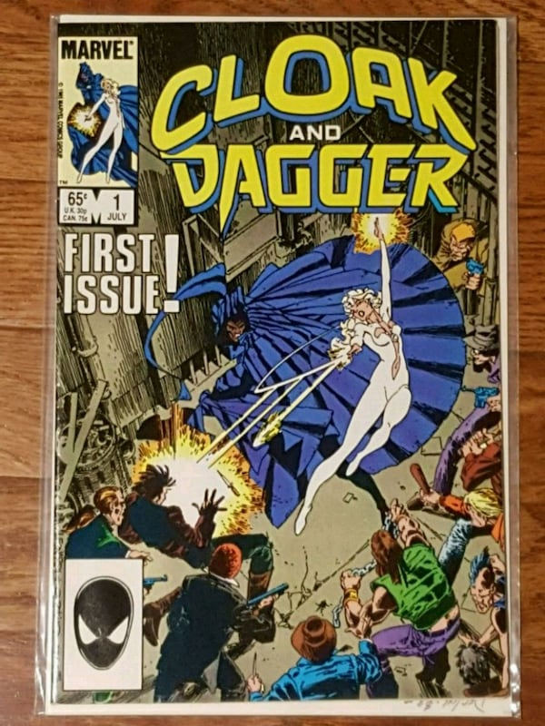 #1 Cloak & Dagger MARVEL comic book 91cd9e0a-70dc-42c5-9d38-bdcd3f74390d