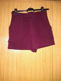 Short  zara granate