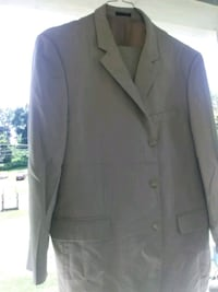 Tan suit for a man 40 regular $9 Triangle, 22172