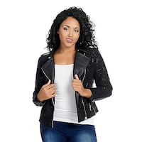 Leather & Lace Jacket Clear Lake