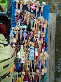 LOT 50 Barbie Disney Frozen African American Black Caucasian Indian Ma Alexandria