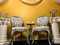 Elegant antique French provincial chairs Kitchener