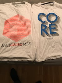 2 BRAND NEW JACK & JONES XL T SHIRTS Montréal, H2X 2K3