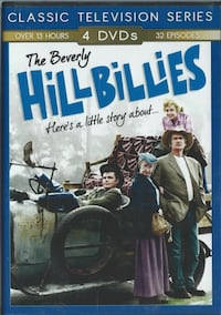 The Beverly Hillbillies Over 13 Hours 4 DVDs 32 episodes DVD Movie San Diego, 92113