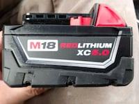 Milwaukee XC 5.0 Battery Mint Condition Mississauga, L5B