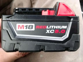 Milwaukee XC 5.0 Battery Mint Condition