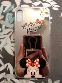 black and red Minnie Mouse iPhone case Edcouch, 78538