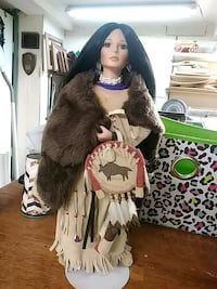 female Native American doll