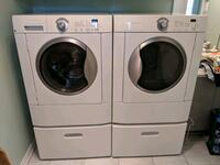 Washer and Dryer Frigidaire Frontload Energy Star Laval, H7X 4E5
