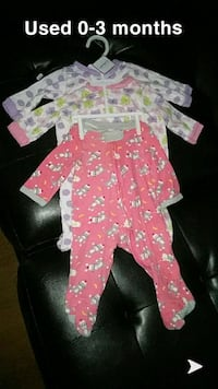 baby girl 3pc lot South Bend